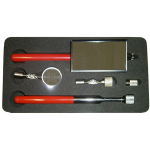 8850 - 5Pc. Stainless Steel Mirror & Magnet Set