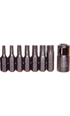 "91118 - 8 Piece 1/4"" Hex Torx Hex Bit Set"
