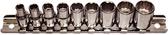 "92310 - 9 Piece 1/4"" Drive 12 Point Standard SAE Sockets"