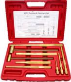 J2600 - 9-Piece, Non-Sparking Punch & Hammer Set