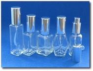 (1) Glass Atomizer SAMPLER - 1oz & 1.15oz - 5 Styles - 1oz/30ml & 1.15oz Sizes
