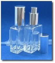 Classic Glass Atomizers - Rectangular - 1oz (30ml)