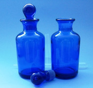 (1) Apothecary Bottle - (Clear, Green or Blue) - 4oz (120mL)