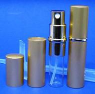 Gold Metal Atomizer - 1/3oz / 10ml