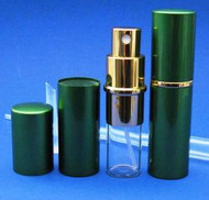 Green Metal Atomizer - 1/3oz / 10ml
