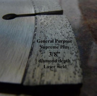 Supreme Plus. Laser weld. For hand held saws and brick/block saws.