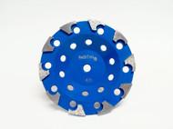 """""""H"""" Cup Blue bond - 40 grit"""