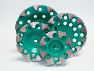 """""""H"""" Cup Light Green bond - 40 grit"""