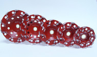 """""""S"""" Cup Red bond - 20 grit Non-Threaded"""