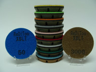 "3"" x 7/16"" (12mm) Wet Use Only - XBLT Pads"
