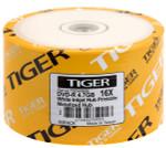 Tiger DVD-R 4.7 GB 16X White Inkjet Hub Printable, 100-Pack