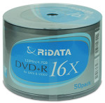 Ritek Ridata DVD+R 4.7GB 16X Branded, 100-Pack