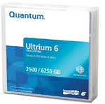 10-Pack Quantum (MR-L6MQN-03) LTO 6 Ultrium 2.5TB/6.25TB Data Cartridge