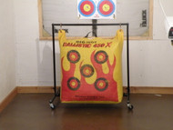 Indoor Target Bag Stand with Casters