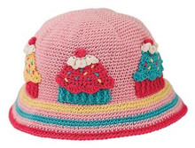 San Diego Hat Co. Daylee Designs PINK CUPCAKE Baby Toddler Girl Hat