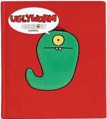 UGLYDOLL Plush Journal Diary UGLYWORM Cute Gift
