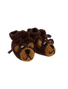 San Diego Hat Co. BROWN BEAR BOOTIES Baby Gift 0-6M