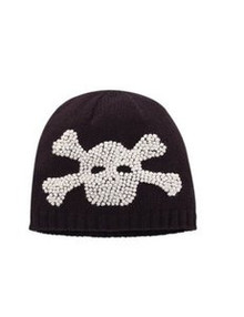 San Diego Hat Co. Children Kids BLACK SKULL BEANIE Knit Cap Hat