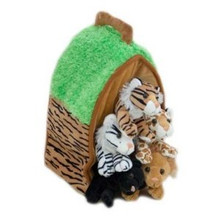 Unipak Plush Toy - WILD ANIMAL HOUSE