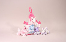 Unipak Plush Toy - UNICORN WHITE CASTLE HOUSE