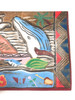 """Hawaiian Scene"" Wooden Relief 20"" X 16"" - Hand Carved/Painted 