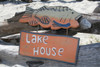 """LAKE HOUSE"" LAKE HOUSE SIGN 15"" - NAUTICAL DECOR 2"