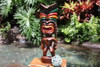 "Love Tiki God 20"" - Hand Carved - Hawaii Treasure"