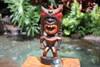 "Money Tiki God 12"" - Hand Carved - Hawaii Treasure"