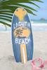 """LAGUNA BEACH"" SURF SIGN W/ FIN 20"" - SURFING DECOR"