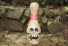 "CROSSBONES BOWLING PIN 14"" - SKULL & BONES DECOR"