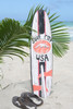 """SURF CITY, USA"" SURF SIGN W/ FIN 40"" - SURFING DECOR"