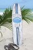 """SURF CITY, USA"" SURF SIGN W/ FIN 40"" - SURFING DECOR 2"