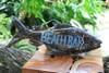 """""""Beach Bar"""" Beach Fish Sign - 16"""" - Coastal Decor   #snd2502040"""