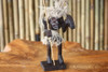 "CRAZY TIKI WARRIOR CHIEF 7"" - PRIMITIVE TIKI DECOR"