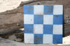 """N"" NAUTICAL RUSTIC FLAG 8' X 8' - WOOD PANEL - NAUTICAL DECOR"