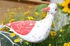 """""""SEAGULL BIRD"""" - RUSTIC RED COASTAL 14"""" - GARDEN/HOME DECOR 2"""