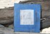 """P"" NAUTICAL RUSTIC FLAG 8' X 8' - WOOD PANEL - NAUTICAL DECOR"