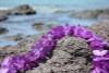 "Purple Island Lei 18"" - Hawaiian Silk Leis"