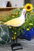 """""""SEAGULL BIRD"""" - RUSTIC YELLOW COASTAL 14"""" - GARDEN/HOME DECOR 3"""