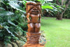 Stacked Tiki Ku And Kanaloa 26"