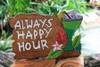 "Tiki Bar Sign ""Always Happy Hour"" with Margarita | #snd2504130"
