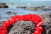 "Red Island Lei 18"" - Hawaiian Silk Leis"