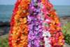 "Bougainvillea Poepoe, Assorted, 6 Pack 18"" - Hawaii Silk Leis"