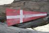 """4"" NAUTICAL NUMERIC FLAG 12"" - WOOD PANEL - NAUTICAL DECOR"