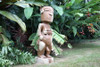 "Lono Fertility Tiki 48"" - Hawaii Museum Replica - Hawaiian Heritage"