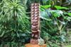 """Tiki Kona Style Kane 32"""" - Stained Hawaii Museum Replica"""