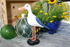 """SEAGULL BIRD"" - RUSTIC BLUE COASTAL 14"" - GARDEN/HOME DECOR 2"