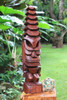 "Tiki God Temple Image 32"" Stained 