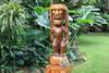 God Of King Kamehameha Tiki - 36 in | Hawaii Museum Replica