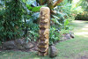 "Premium Love Tiki 40"" - Acacia Wood - Home Decor"
